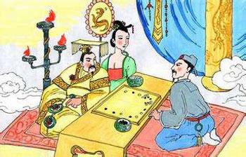 刘伯温和朱元璋作对联